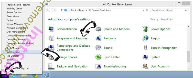 Delete PDF Converter App from Windows 8
