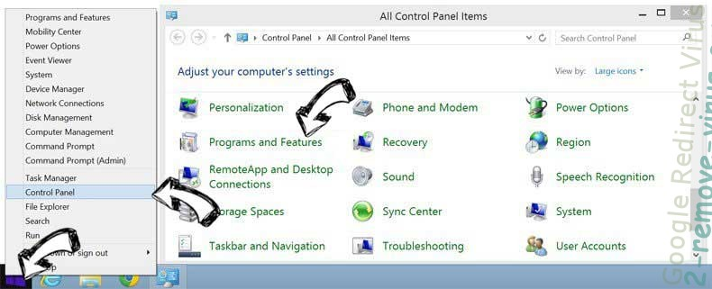 Delete AplusGamer Toolbar entfernen from Windows 8