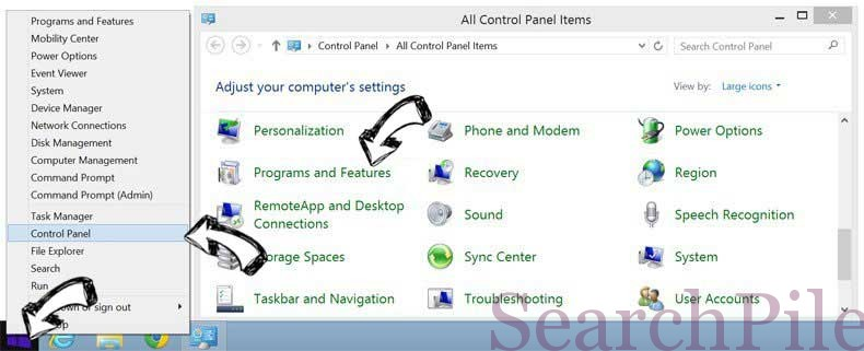 Delete PasswordLogic Toolbar from Windows 8