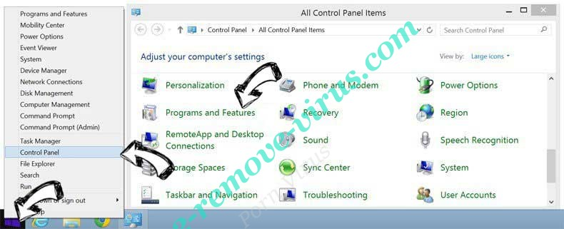 Delete Microsoft Security Alert Scam from Windows 8