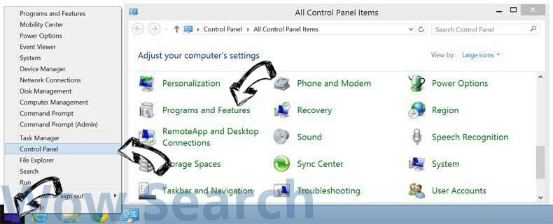 Delete Search.hdopplerweatherradar.co from Windows 8
