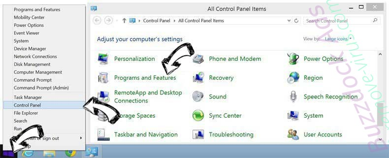 Delete Buzzdock Ads from Windows 8