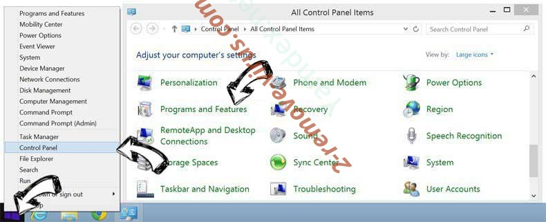 Delete Windows Product Key Expired Scam from Windows 8