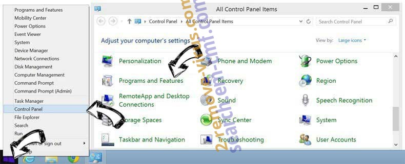 Delete Search.yourvidconverter.com from Windows 8