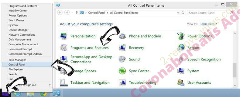 Delete GetCouponsFast Toolbar from Windows 8