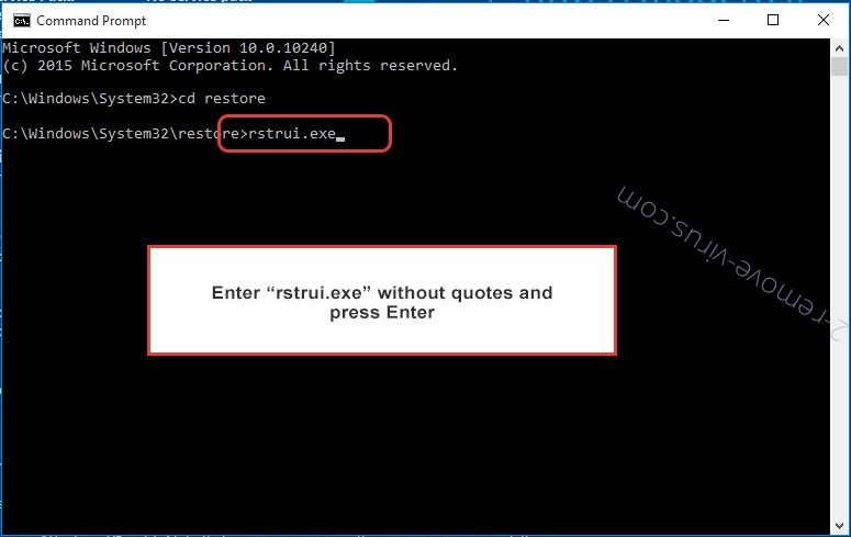 Delete Unlock this Page to Continue - command prompt restore execute