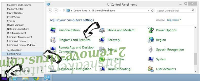 Delete Search.aquatoria.net from Windows 8