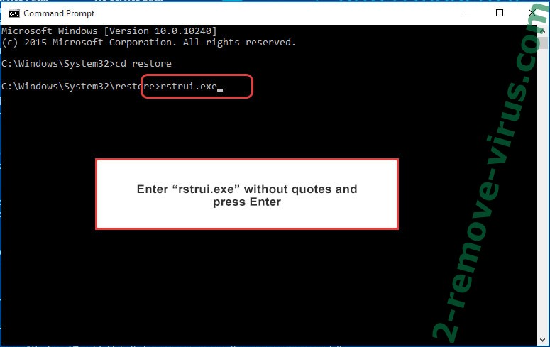 Delete .sage File Virus - command prompt restore execute