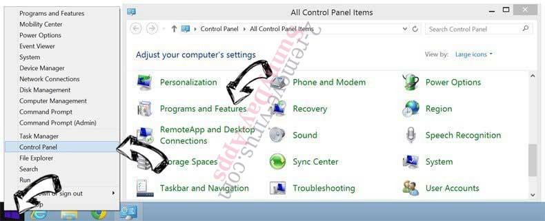 Delete SunnyDay-Apps from Windows 8