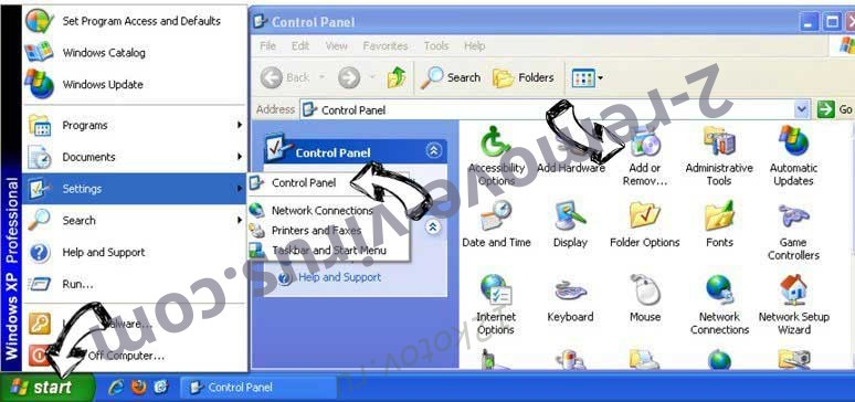 Remove Youfind.online from Windows XP