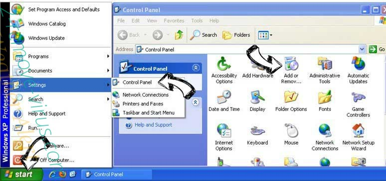 Remove Royal Raid Ads from Windows XP