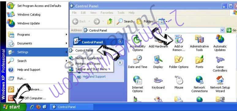 Remove Junker ads from Windows XP