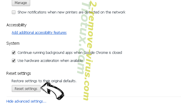 Web Bar toolbar Chrome advanced menu
