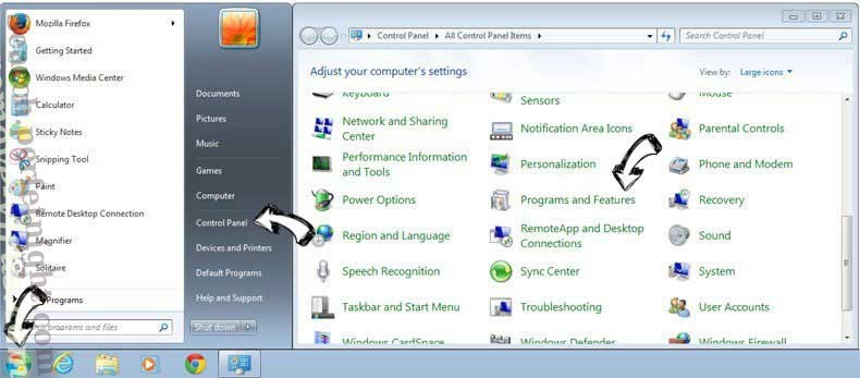 Uninstall Soundrad.net from Windows 7