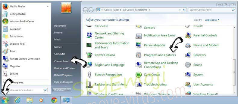 Uninstall Twinkle Star from Windows 7