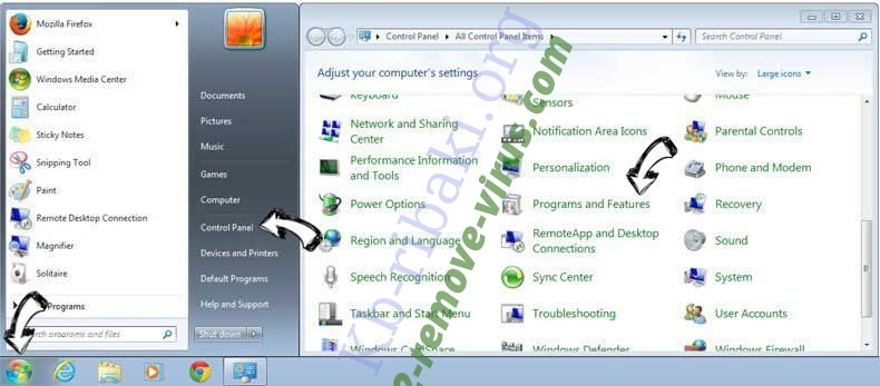 Uninstall TelevisionAce Toolbar from Windows 7