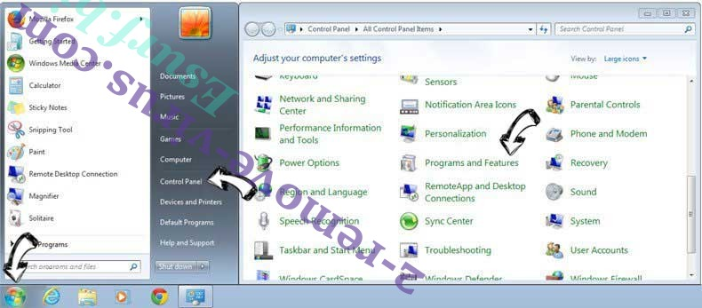 Uninstall TextToTalk Adware from Windows 7