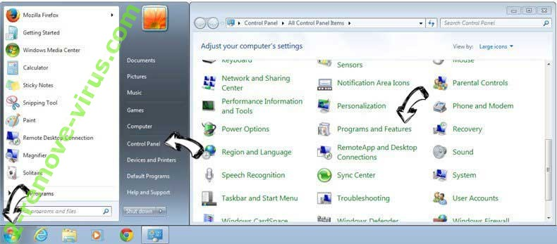 Uninstall AplusGamer Toolbar entfernen from Windows 7