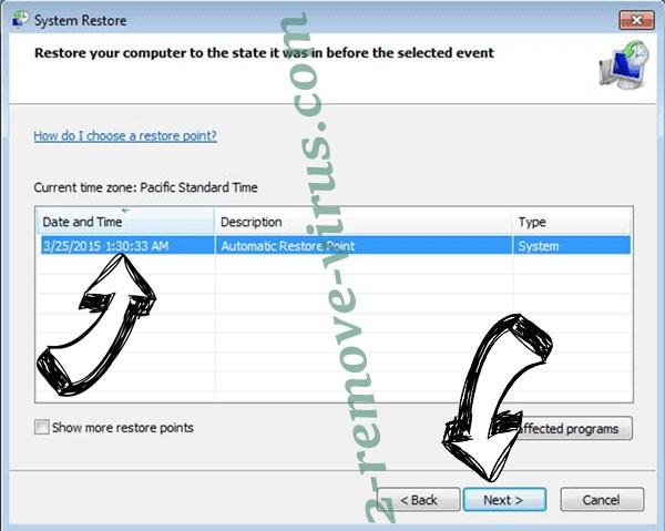 HadesLocker - restore point