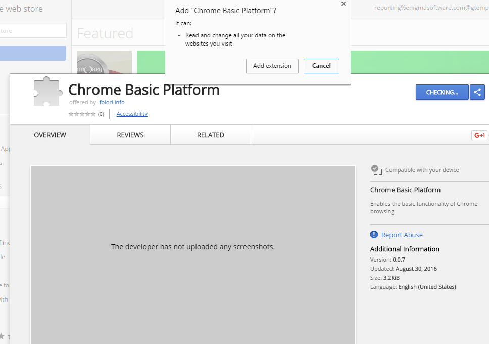 Chrome Basic Platform