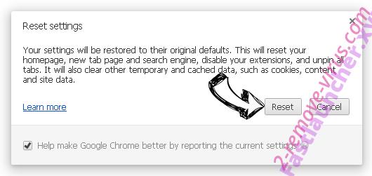 Mywebs.pro Chrome reset