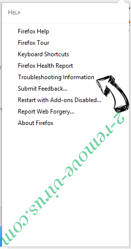Websrch.net Firefox troubleshooting