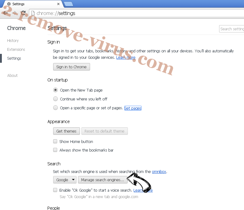 SafeSearch Incognito Chrome extensions disable