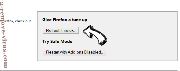 Search.browserio.com Firefox reset