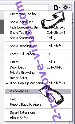 Tonsharrensinjust.pro Safari menu