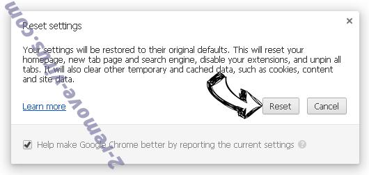 Tech-connect.biz Virus Chrome reset