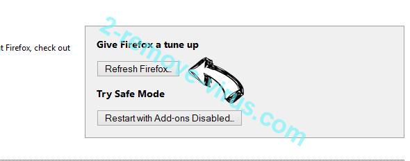 Tech-connect.biz Virus Firefox reset