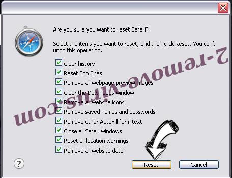 Tech-connect.biz Virus Safari reset