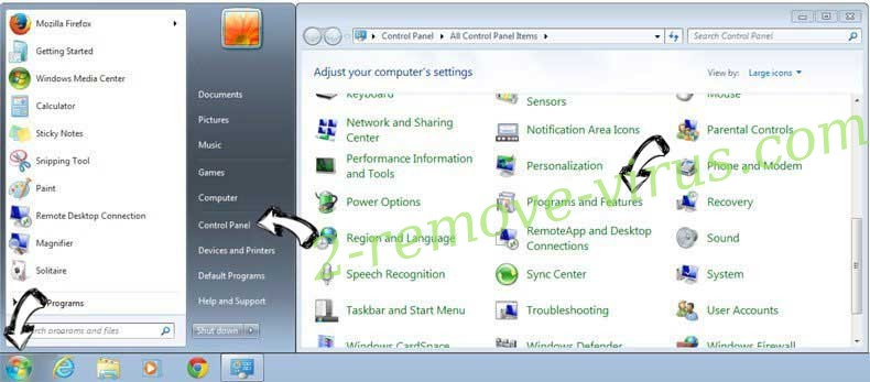 Uninstall Pakistani Girls Mobile Data adware from Windows 7