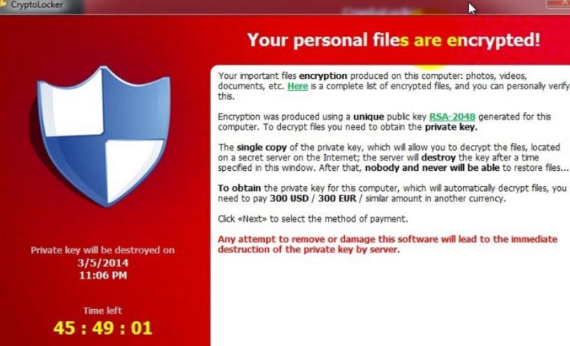 Rotor ransomware virus