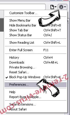Downtibutca.pro Safari menu