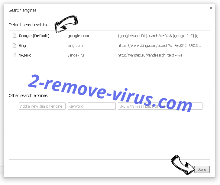 Chromium virus Chrome extensions disable