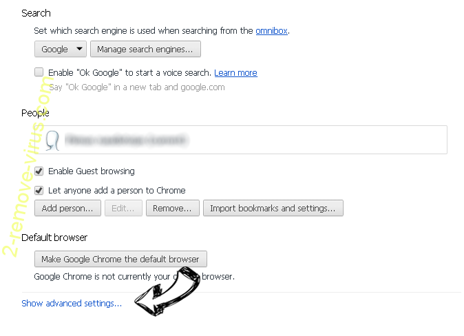 Lostrabbitmedia.com Chrome settings more