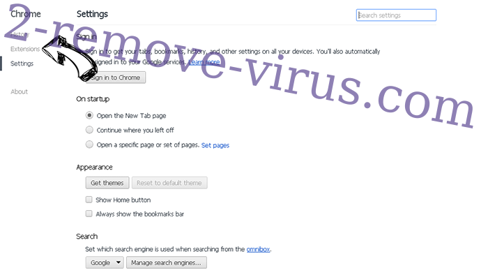 Apple Warning Alert Virus Chrome settings
