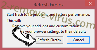 PC Support Center Adware Firefox reset confirm