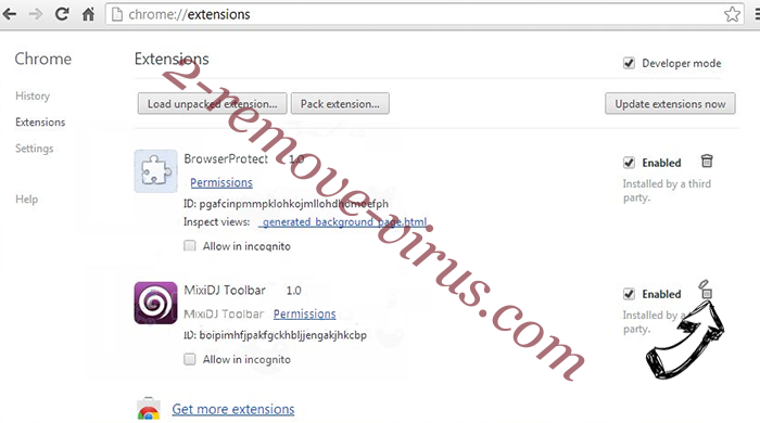 Search.wharkike.com Chrome extensions remove