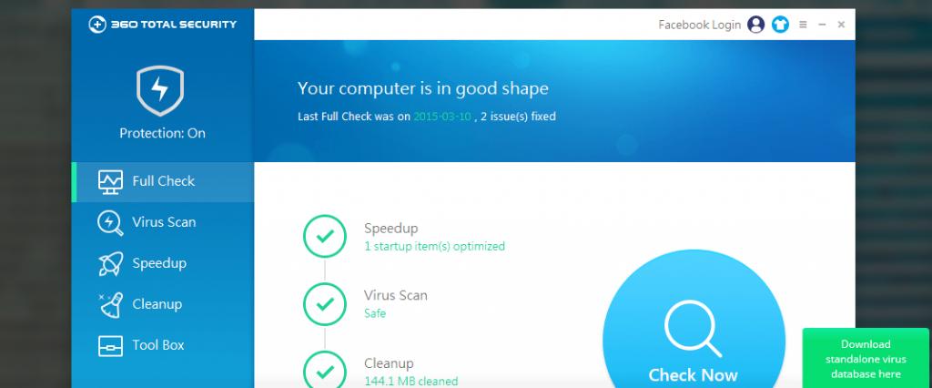 360 Safe virus