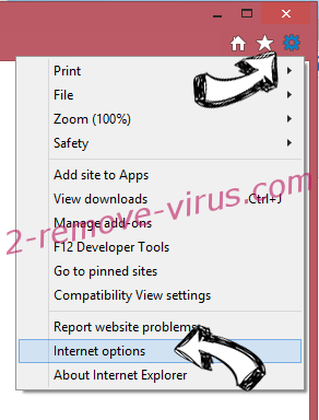 My Inbox Helper Virus IE gear