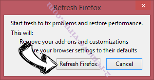 Search.cuttinsledge.com Firefox reset confirm