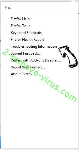 StreamFrenzy.com virus Firefox troubleshooting