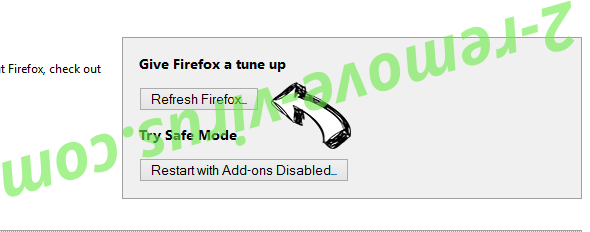 Ads by Green Game Virus Firefox reset