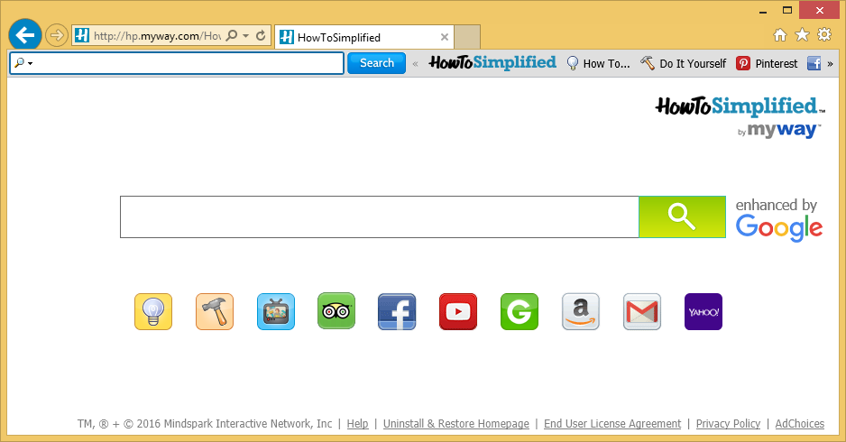 HowToSimplified Toolbar