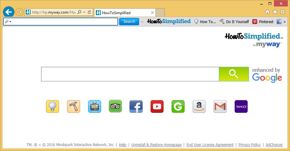 HowToSimplified Toolbar