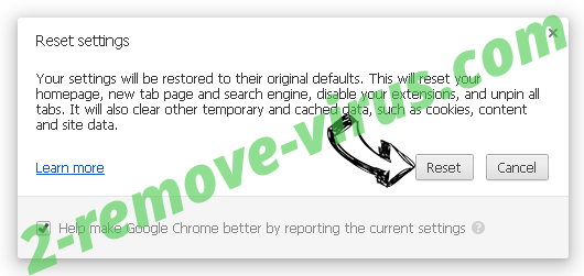 EdocTransfer virus Chrome reset