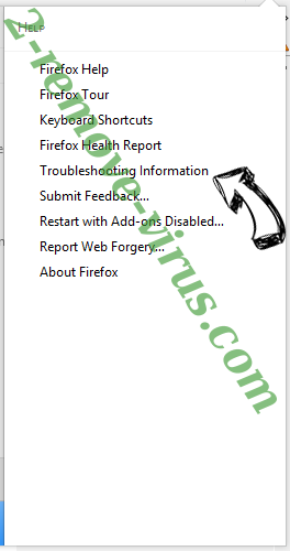 SEARCH.FEEDVERTIZUS.COM Firefox troubleshooting