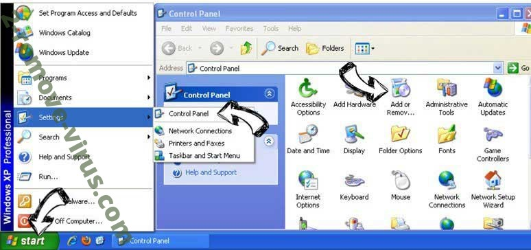 Remove Event Monitor by SYS SECURE PC SOFTWARE from Windows XP